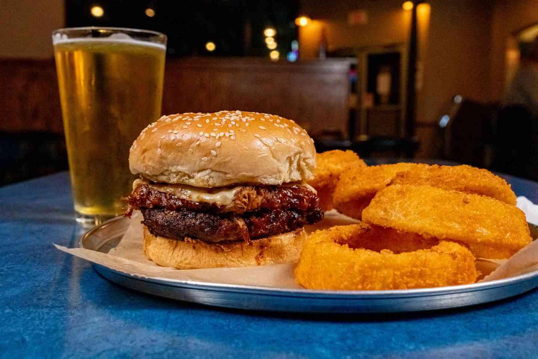 Nebraskan BBQ Burger