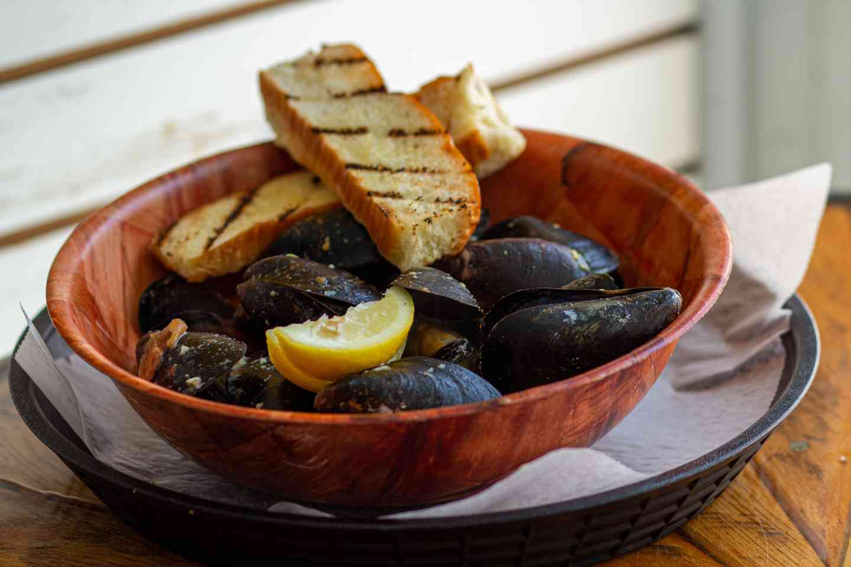 Mussels Dijon
