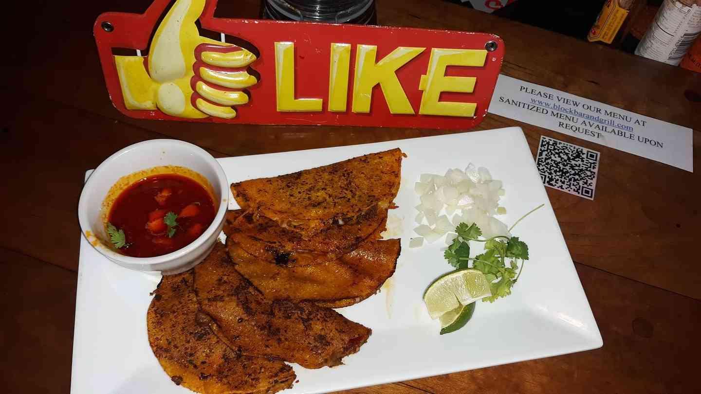 Birria tacos
