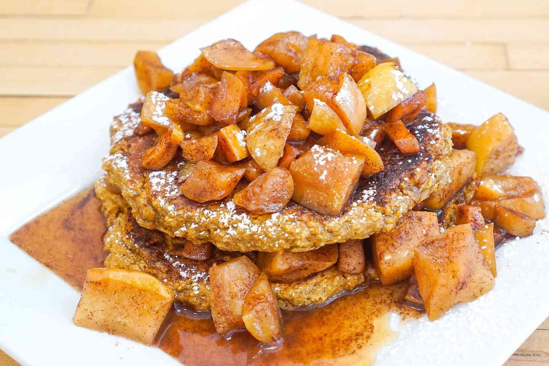 apple sweet potato pancakes
