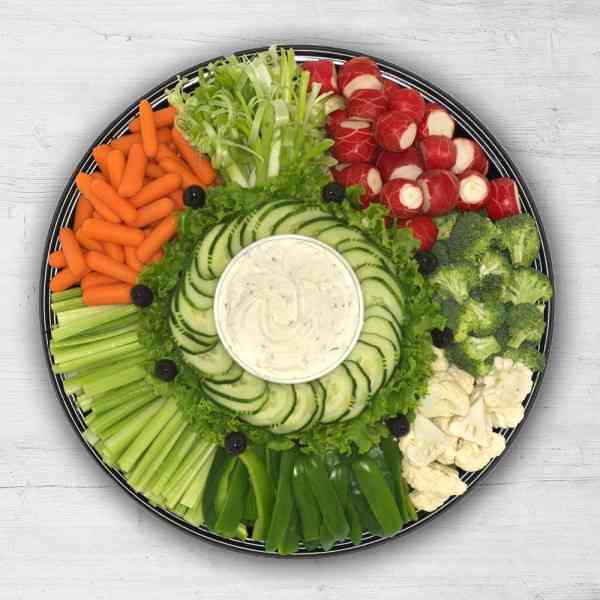 Vegetable Tray with Cool Ranch Dip