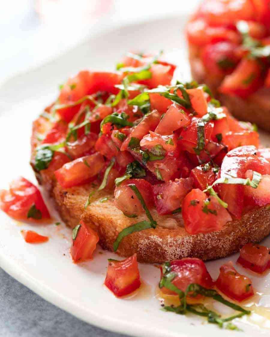 Tomato Basil Bruschetta