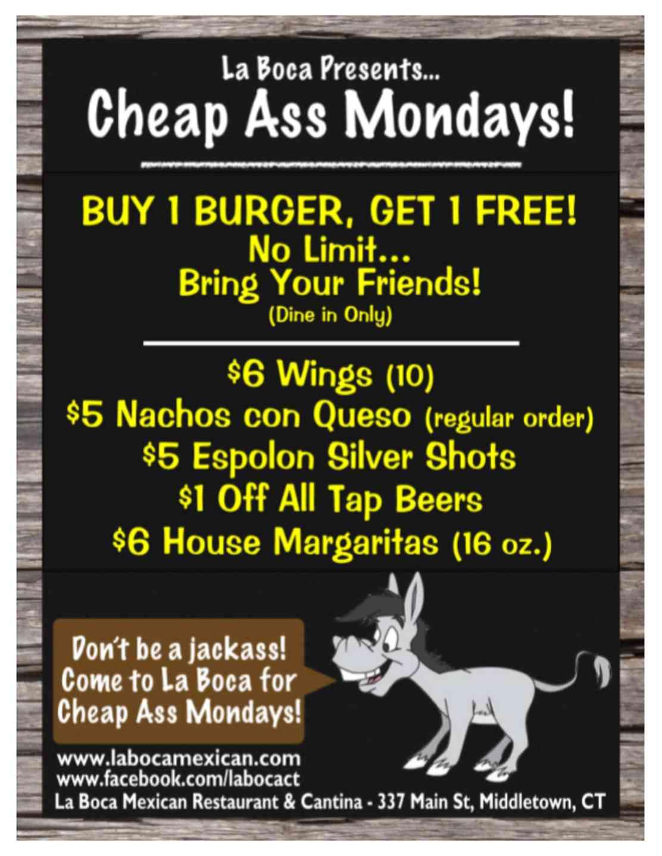 Cheap A$$ Mondays