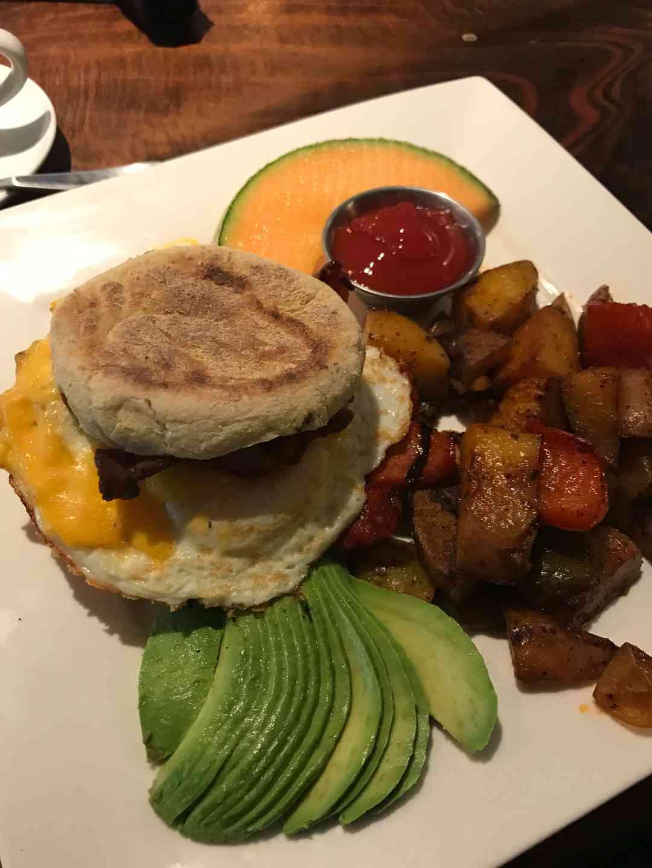 McTony Breakfast Sandwich