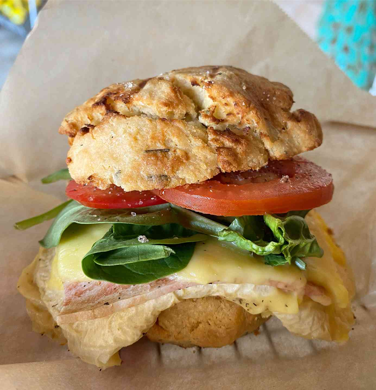 Herb Biscuit Sandwich