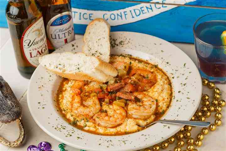 Parish's Award Winning Shrimp & Grits