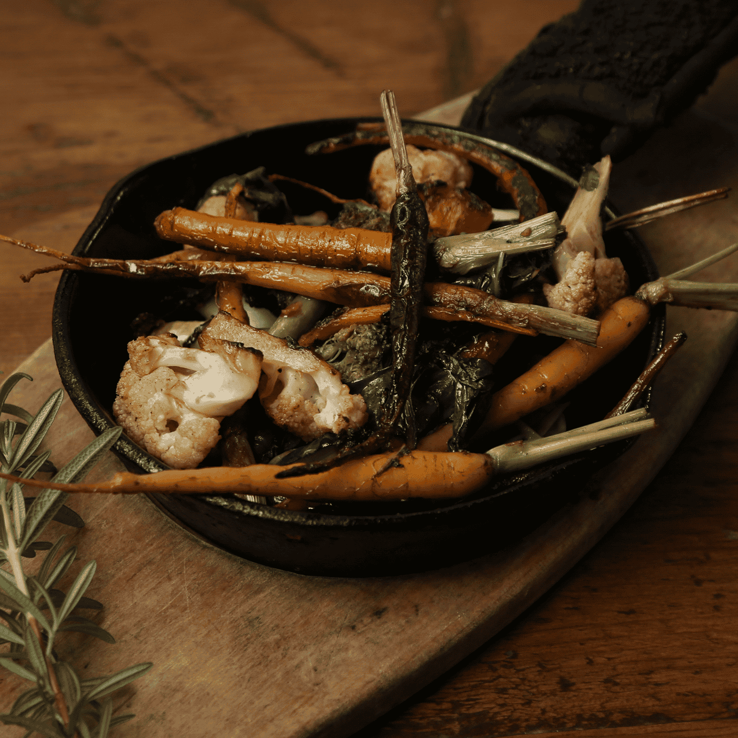 Wood-Fired Vegetables