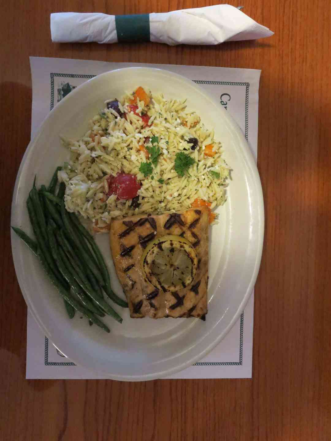 Charbroiled Salmon