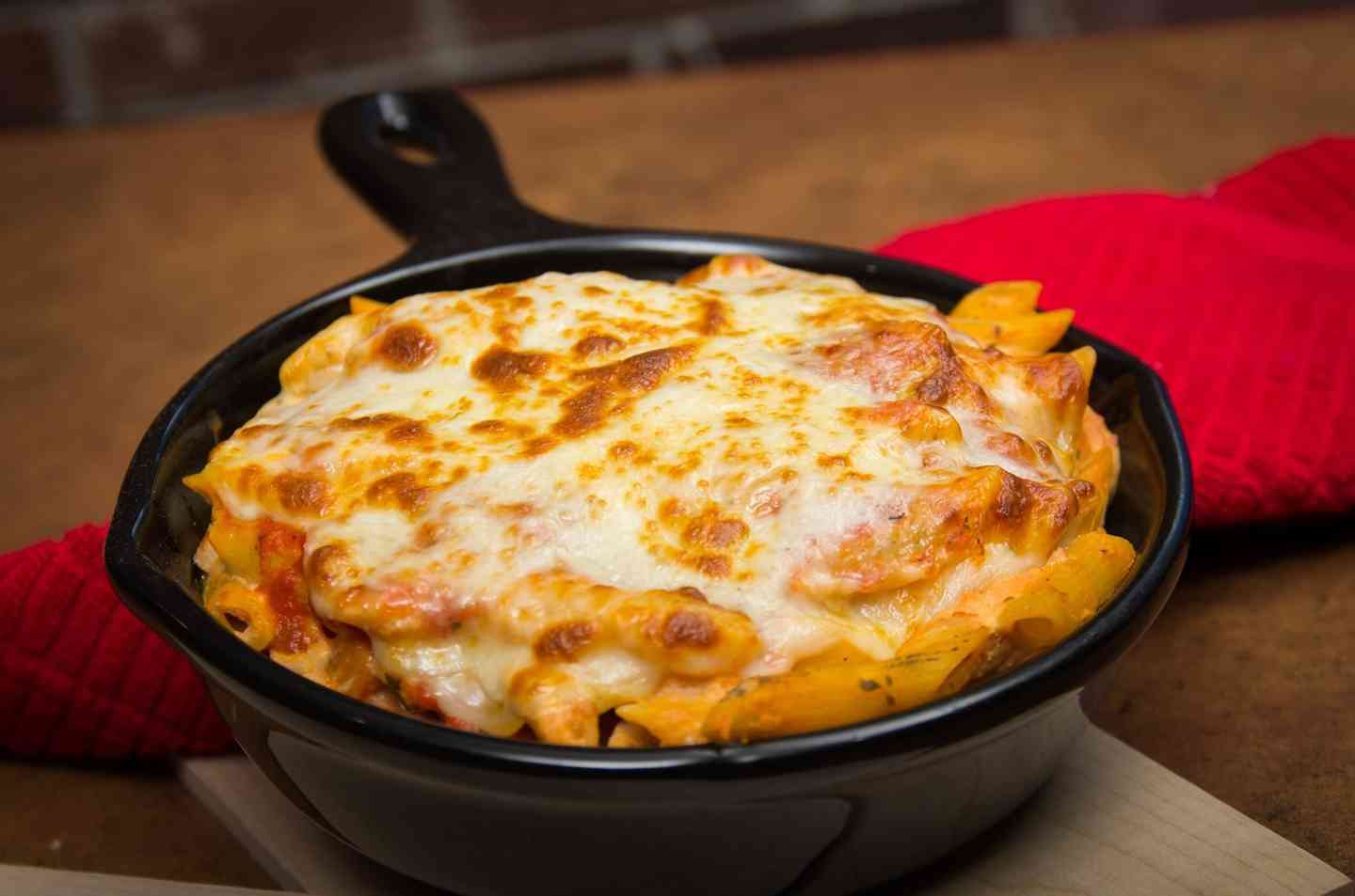 Wood-Oven Baked Chicken Penne