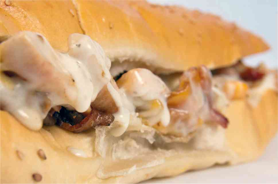 Chicken Ranch Hoagie