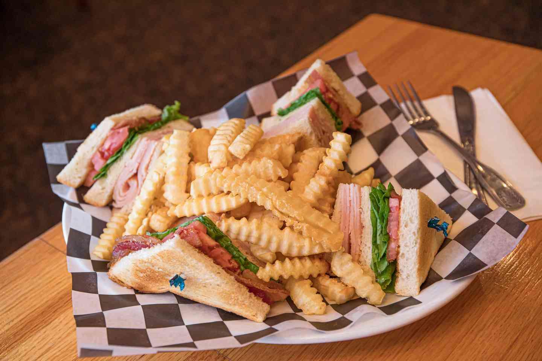 The Harvard Club Sandwich