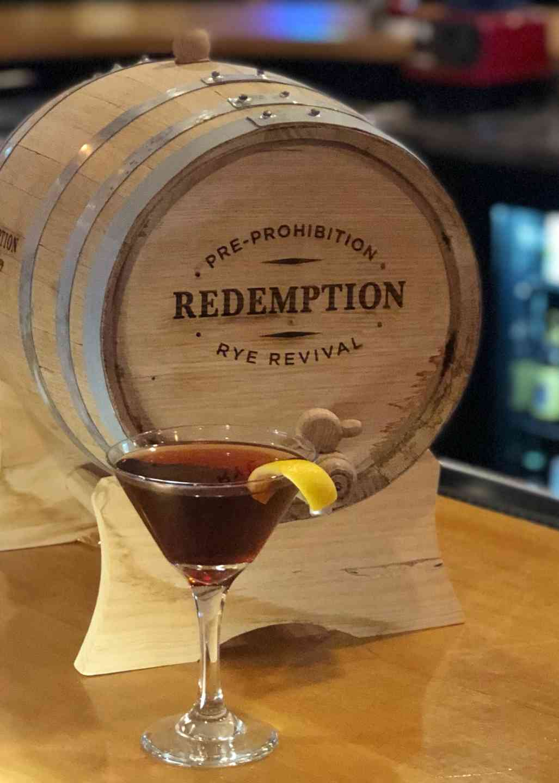 Redemption Barrel-Aged Manhattan!!!