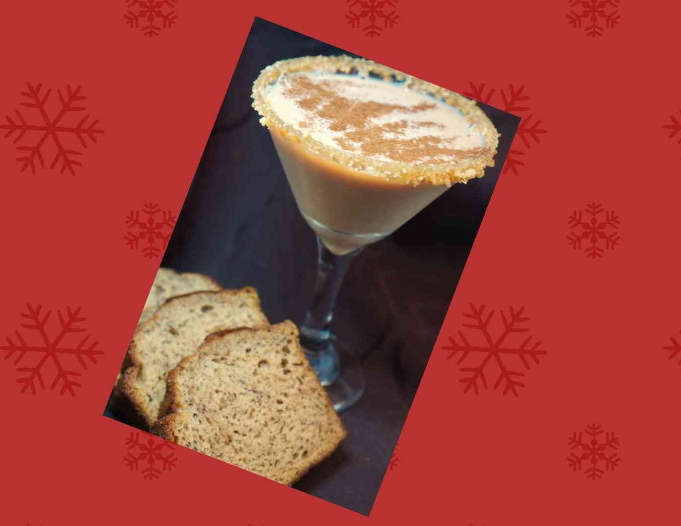 Banana nut Bread Martini