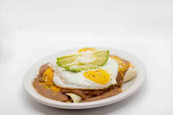 Breakfast Enchiladas (Enfrijoladas)