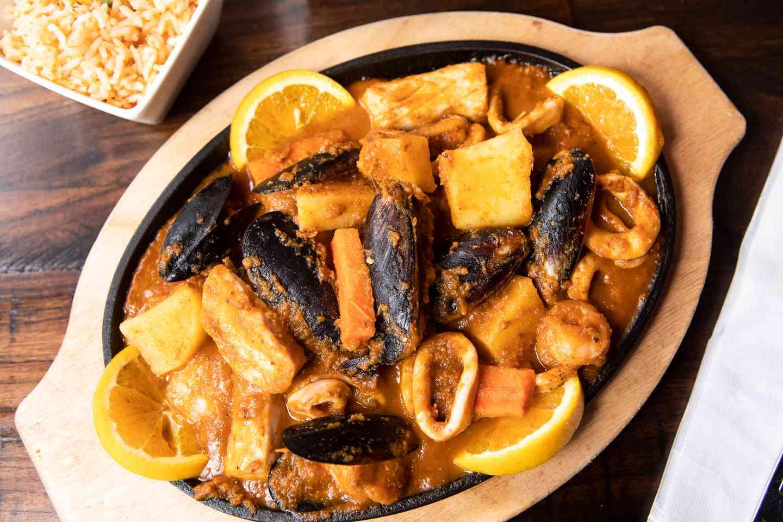 Seafood Lover's Fajita