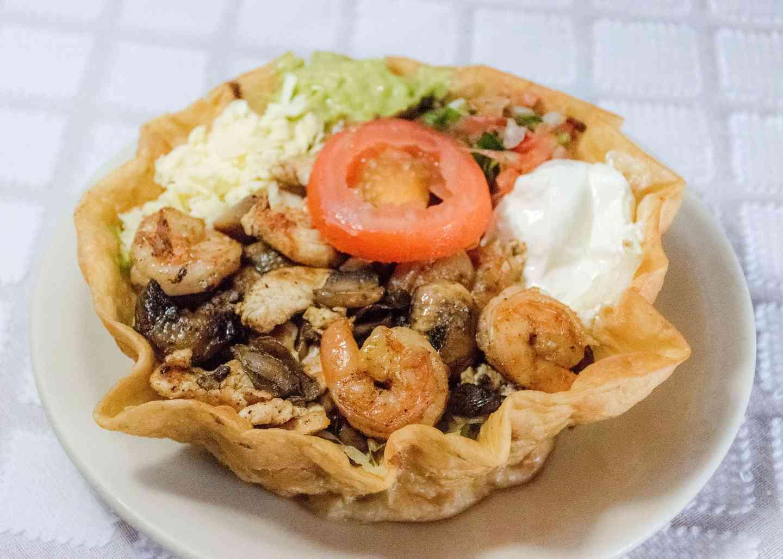 **Tapatio Taco Salad