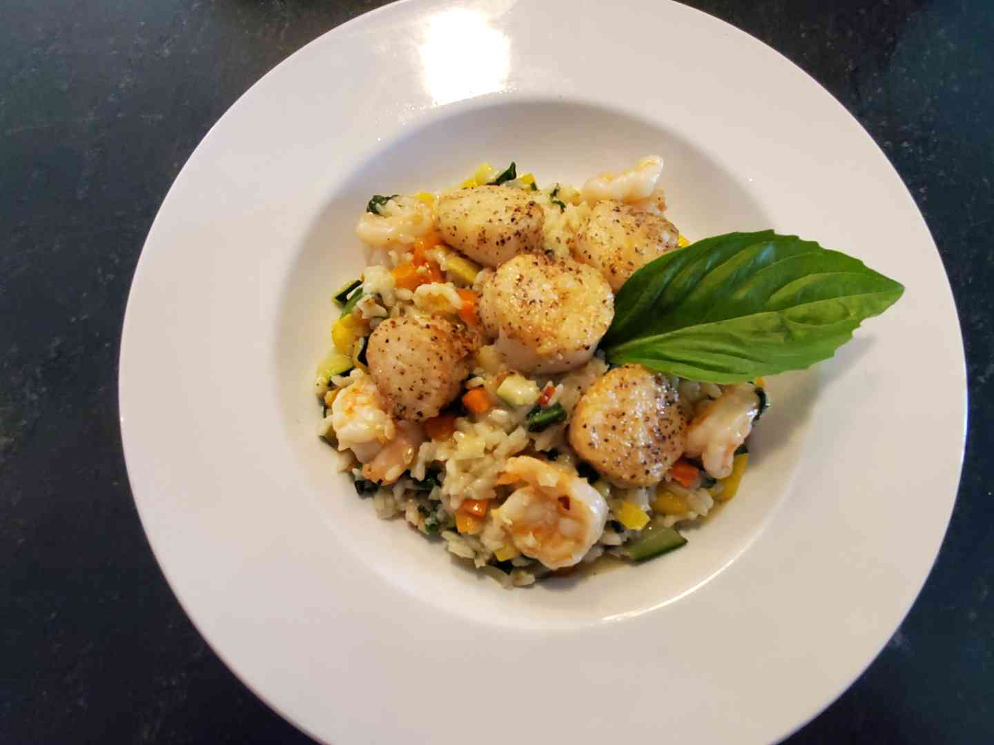 Shrimp & Scallop Risotto