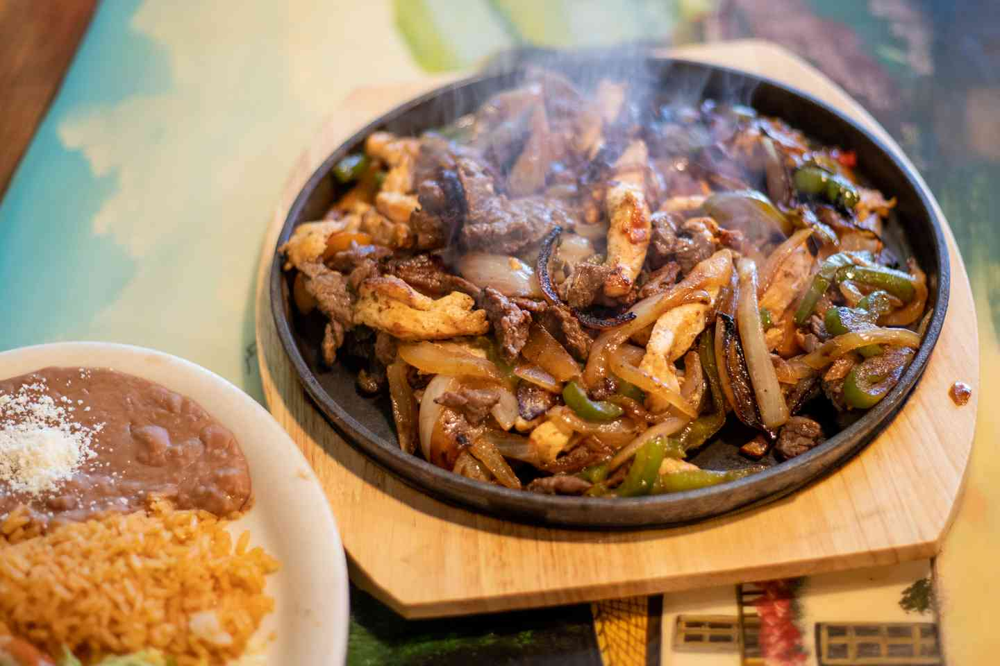 Fajitas For Two - Chicken, Steak or Combination
