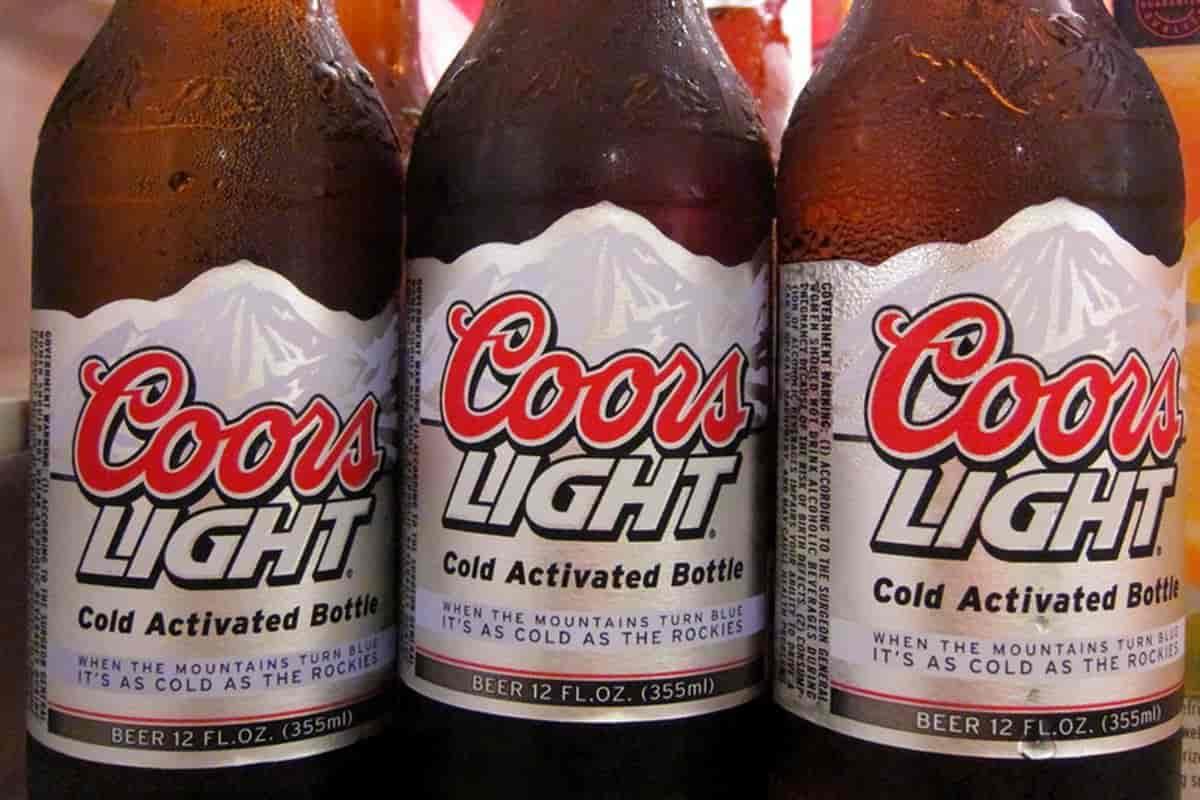 Coors Light Bottles