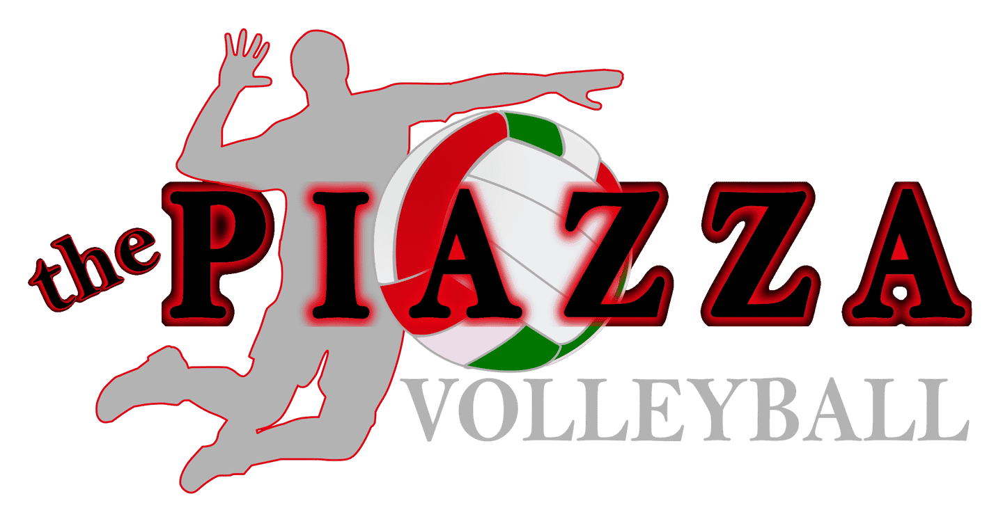 the piazza volleyball logo