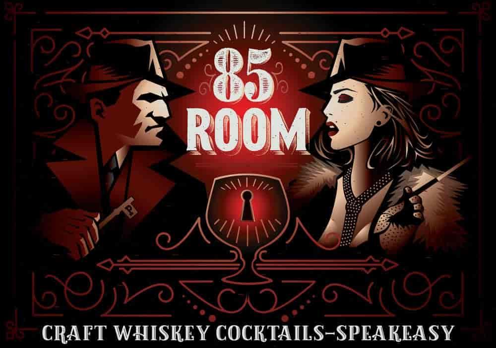 85 room logo