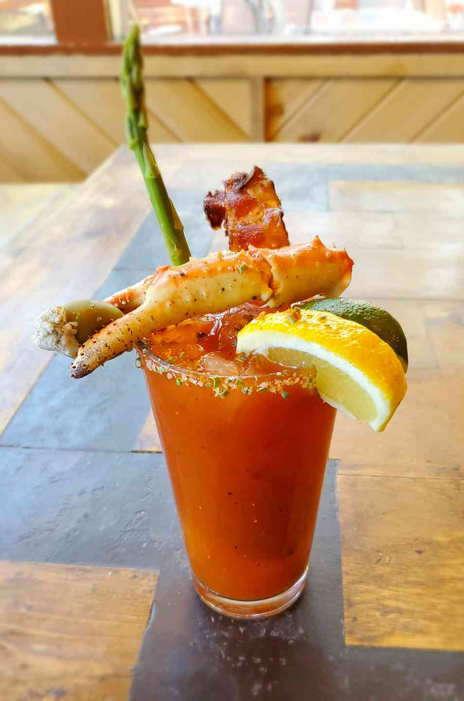 Surf & Turf Bloody Mary