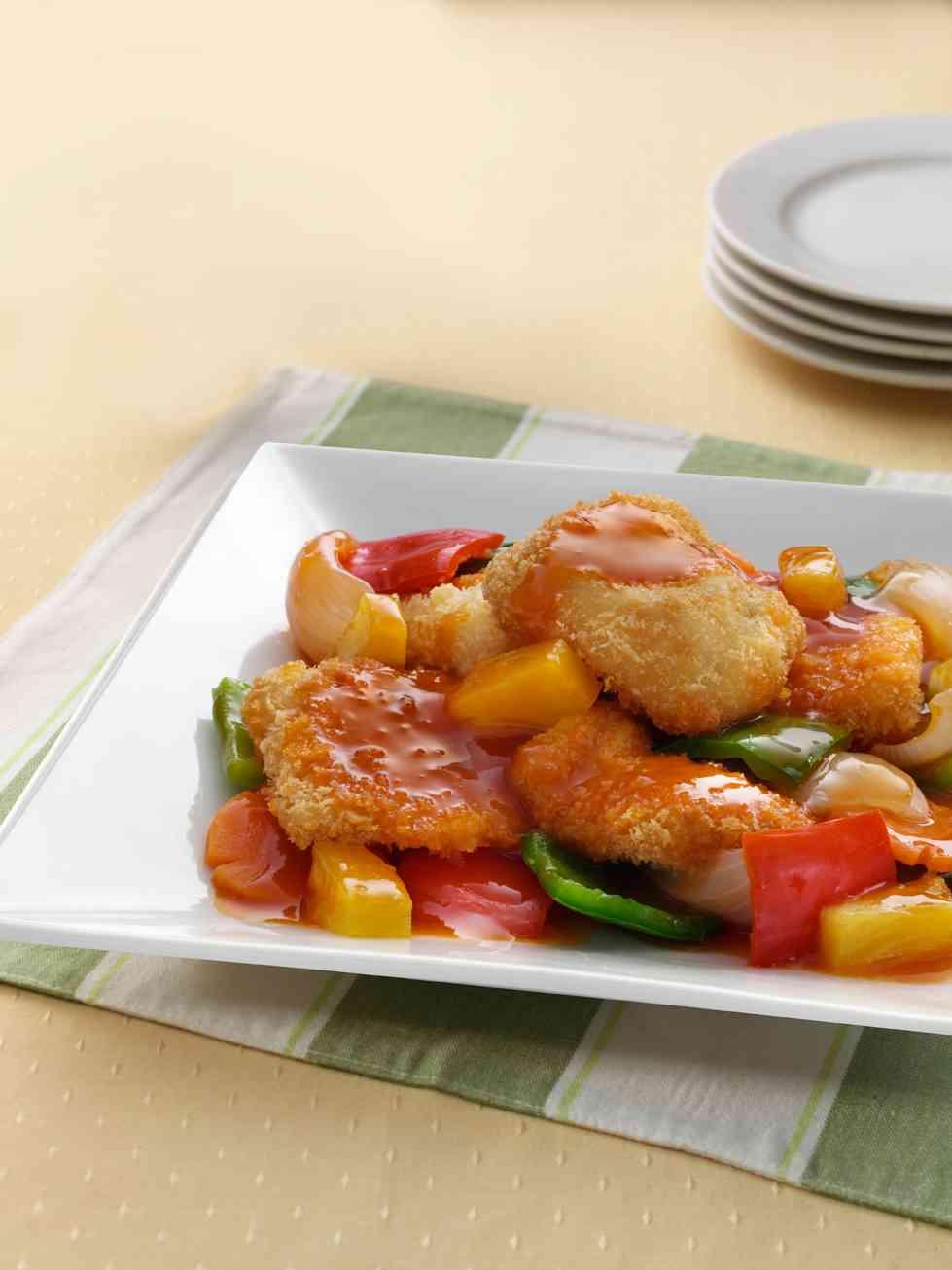 Sweet & Sour Fish Fillet