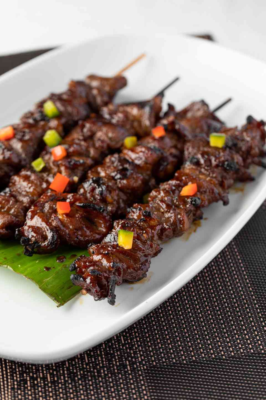 Filipino Pork Barbecue Skewers