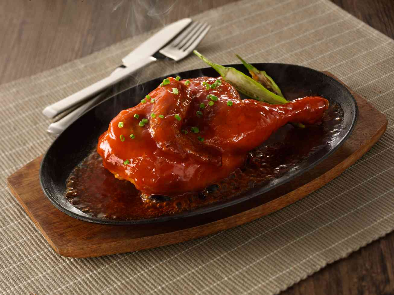 Sizzling Sweet & Spicy Chicken