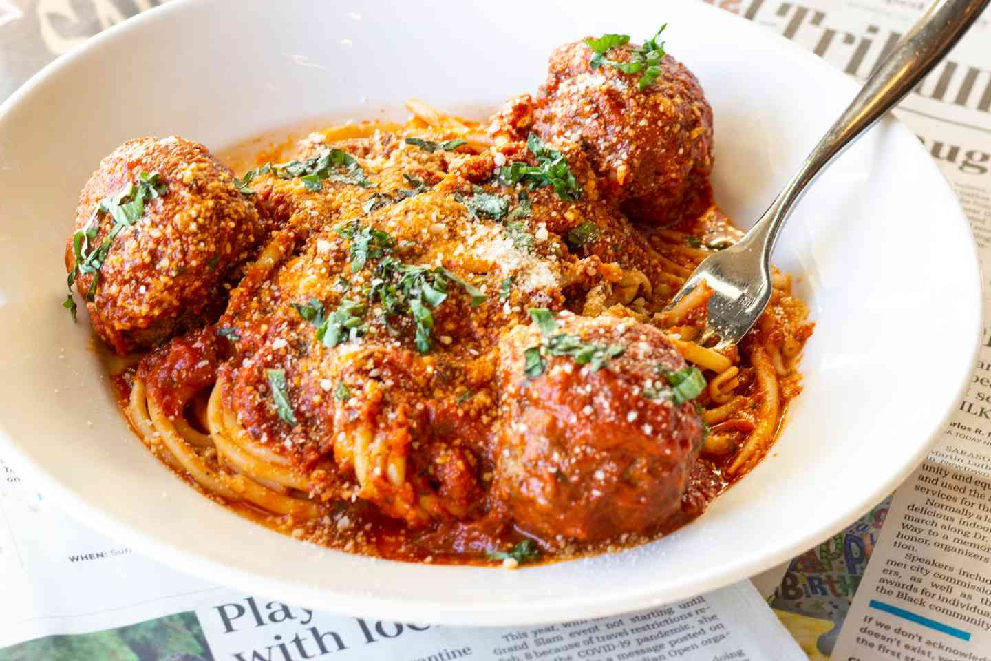 Friday(ONLY)-Joe's Spaghetti & Meatballs