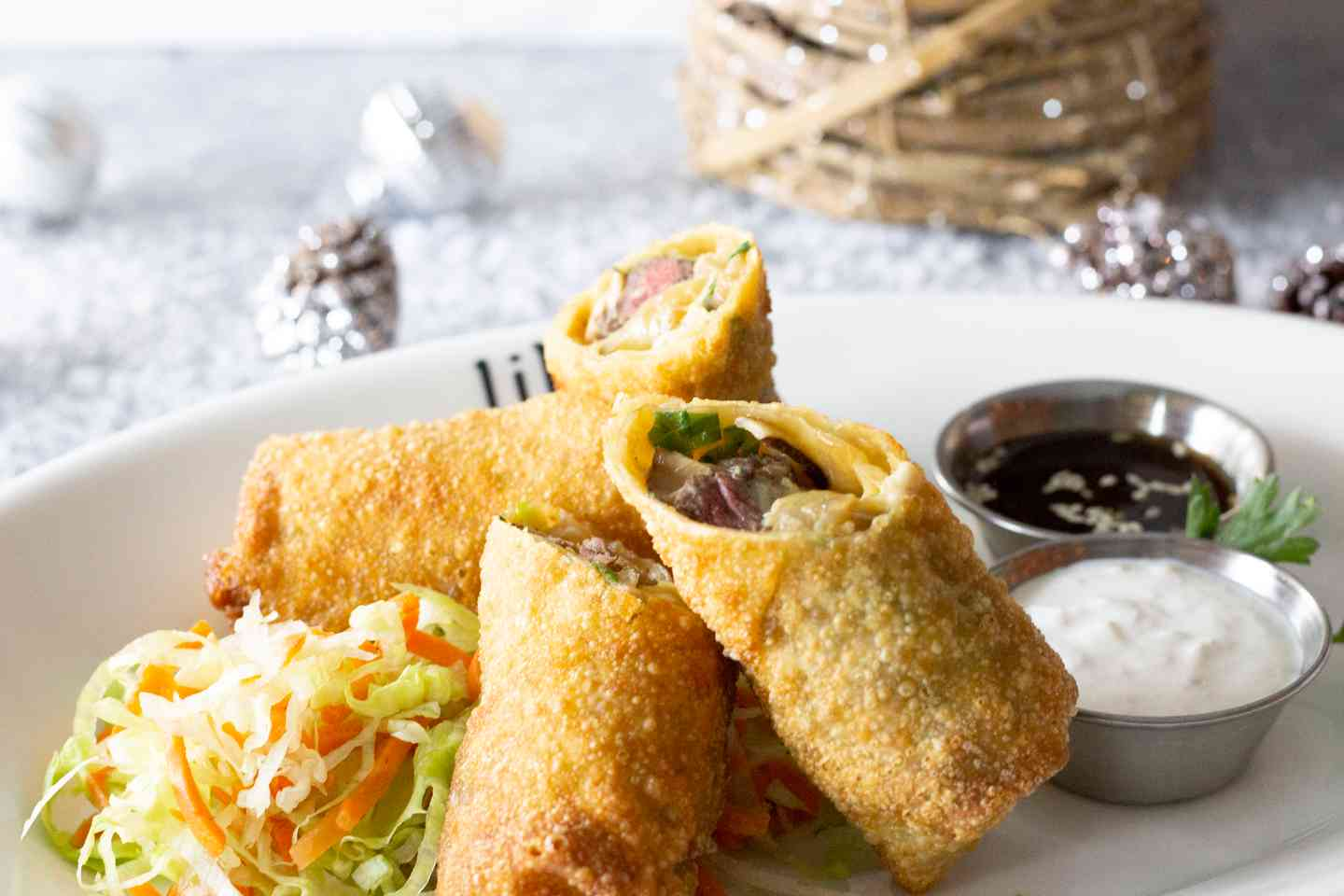 Filet Tip Eggrolls