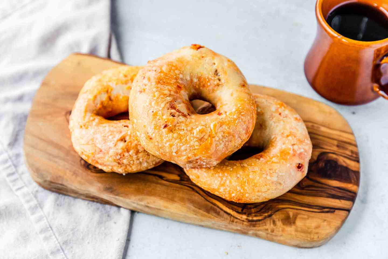 Sun-dried Tomato Bagel