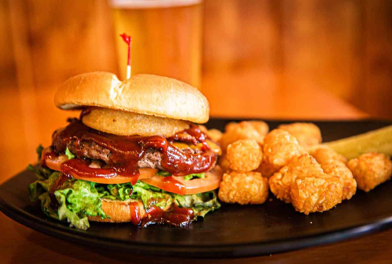 Bacon Western Burger