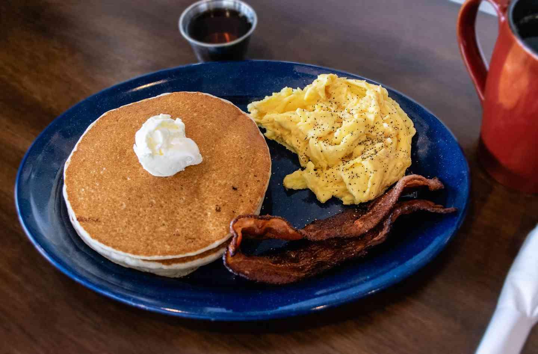 Traditional Pancake Stack