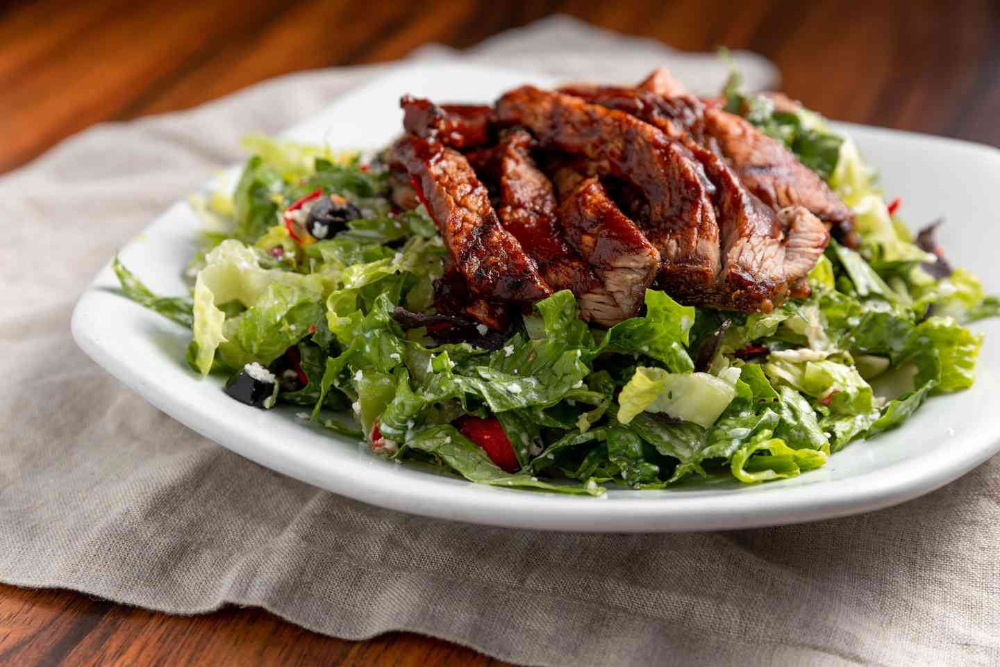 BBQ Tri Tip or BBQ Chicken Salad