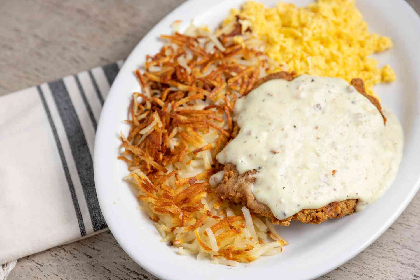 Keno's Chicken Fried Steak & Eggs