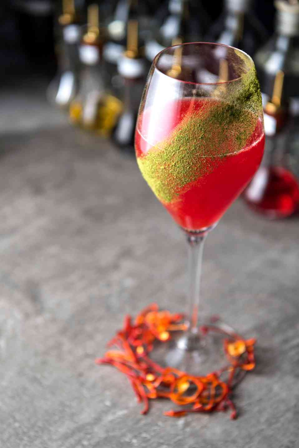 pink cocktail