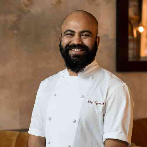 EXECUTIVE CHEF SUJAN SARKAR
