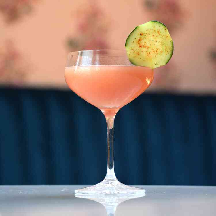 Pink City cocktail