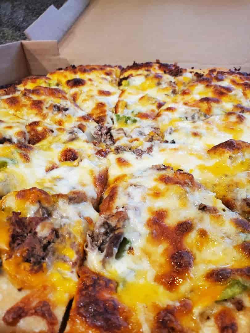 Cheese Steak Pizza