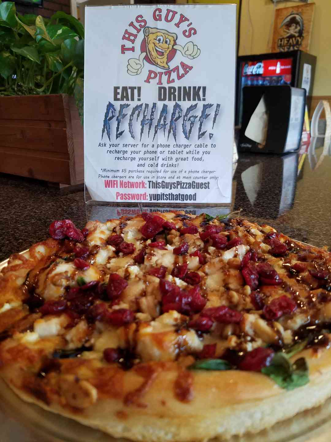 The Cranberry Walnut Pizza