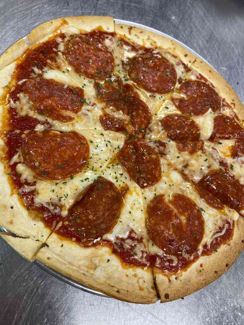 9-Inch Thin Crust Cheese Pizza