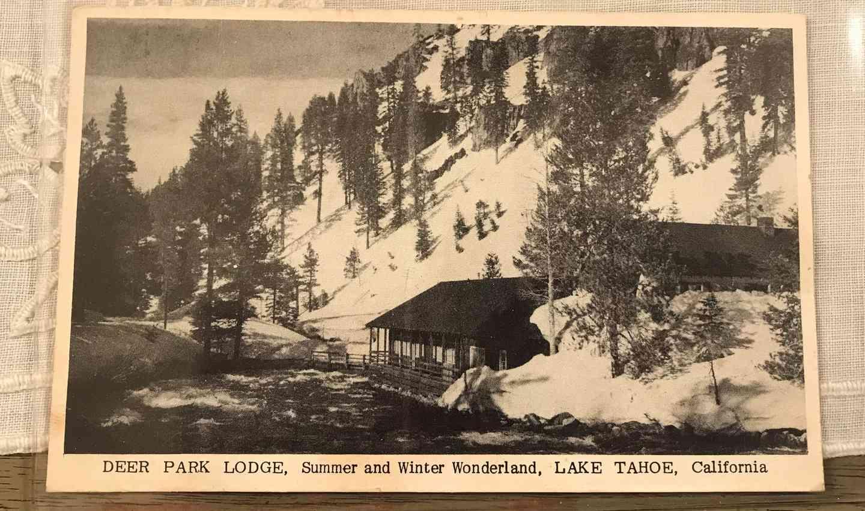 1953 Postcard