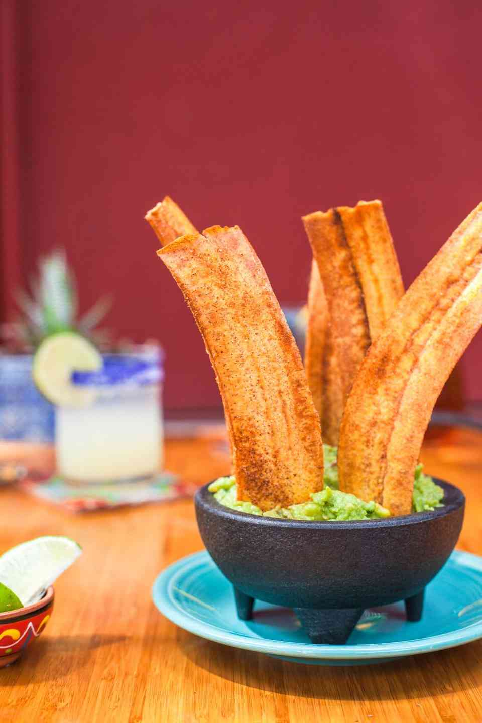 Plantains & Guacamole