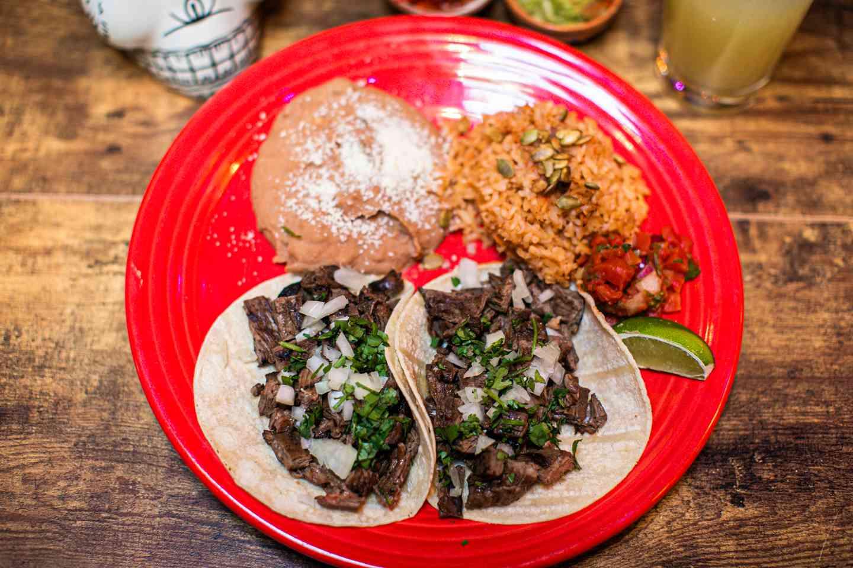 *Carne Asada Tacos