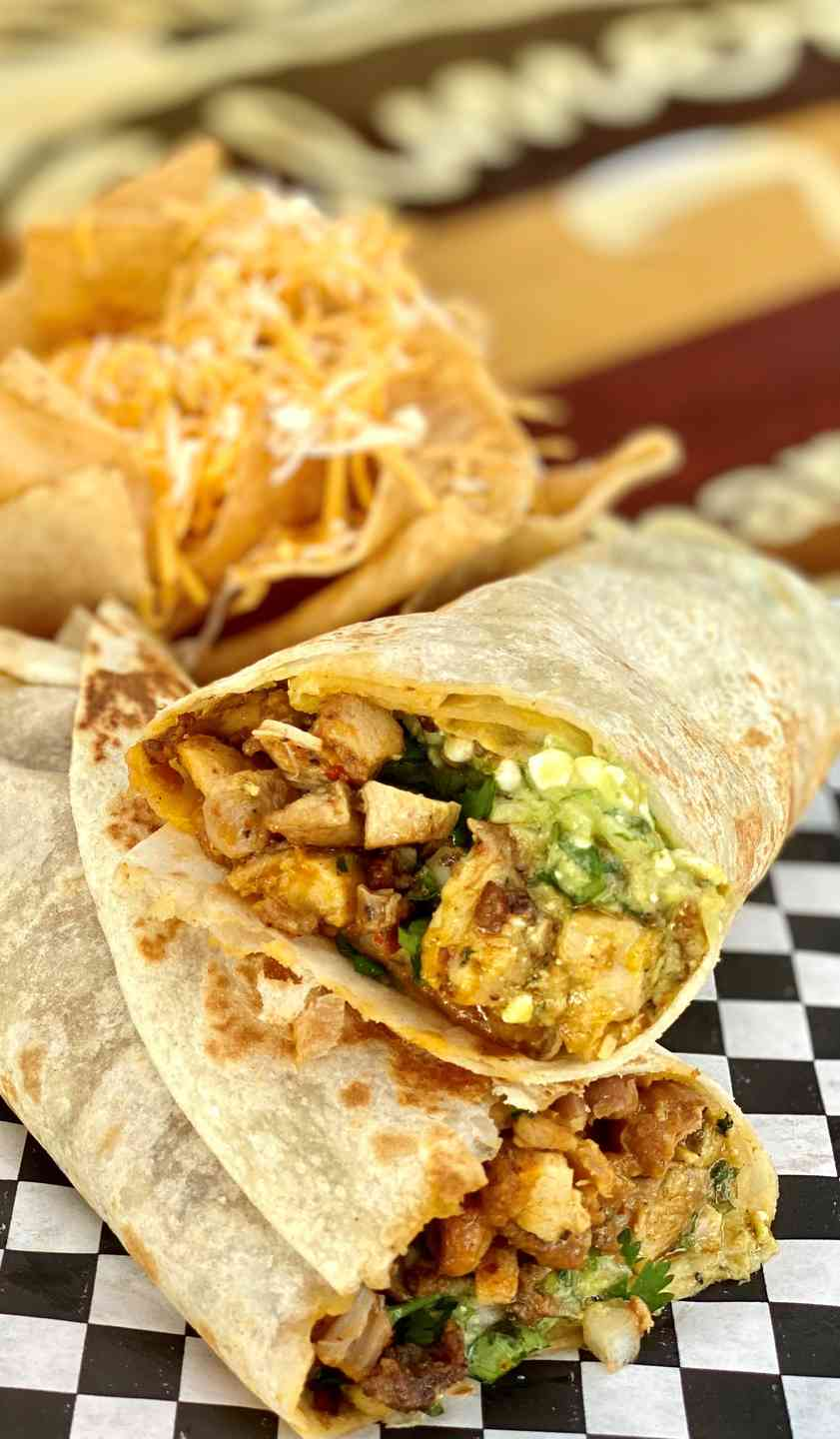 Hot & Spicy Grilled Chicken Burro