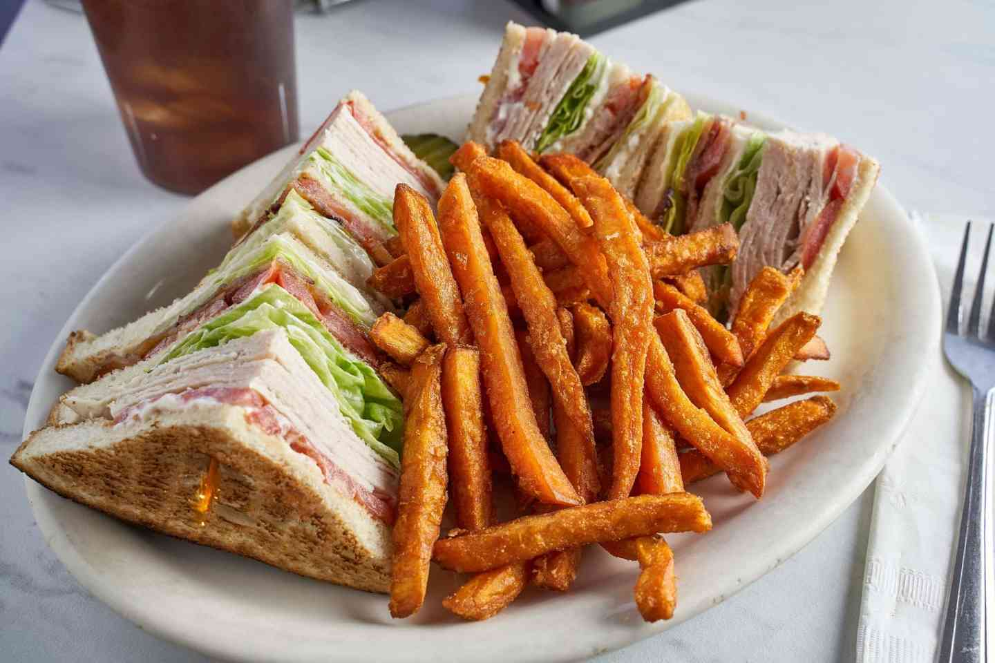 BLT Triple Decker Sandwich