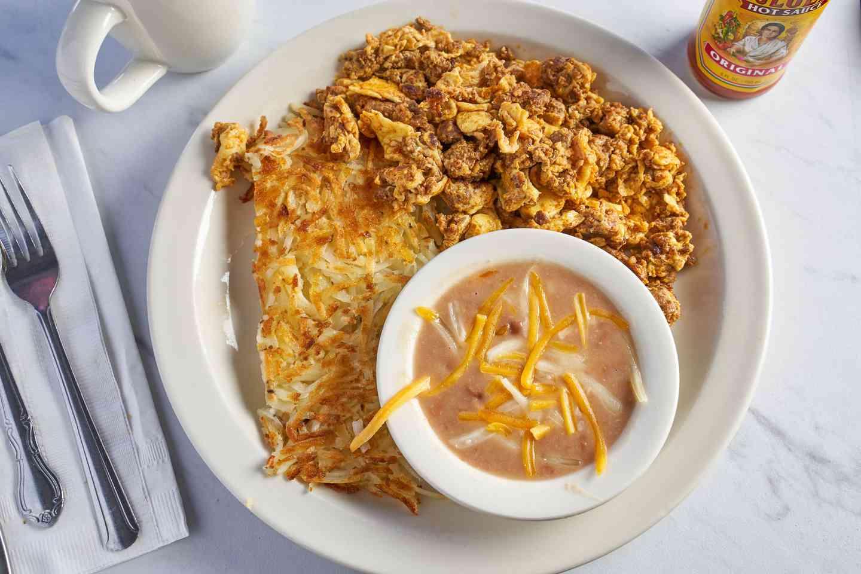 2 Eggs & Chorizo Hash