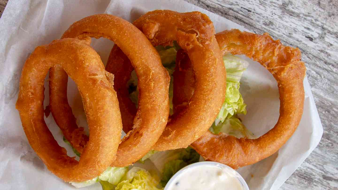 Colossal Onion Rings