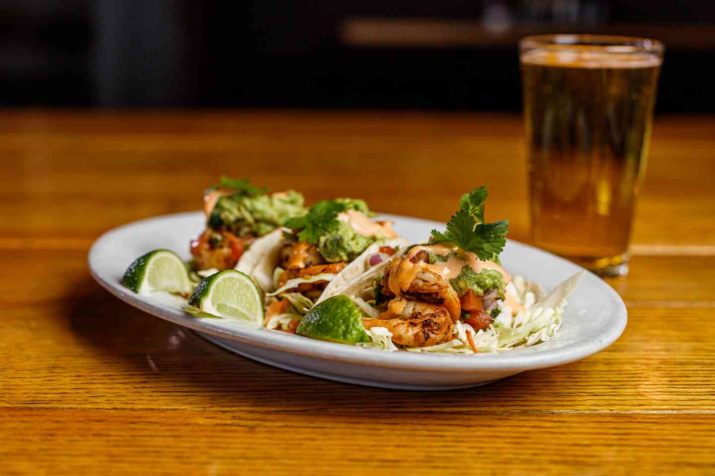 Seafood Taco Plate
